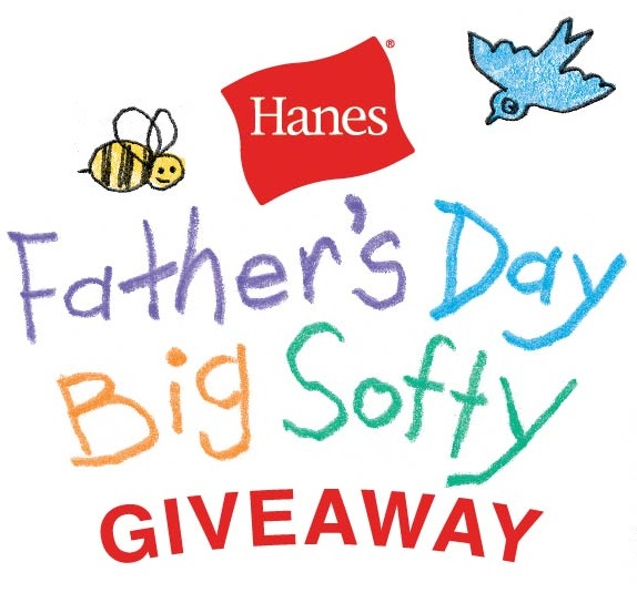 Father's Day Hanes Big Softy $50 Visa Gift card giveaway