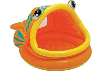 Lazy Fish Shaded Baby Pool