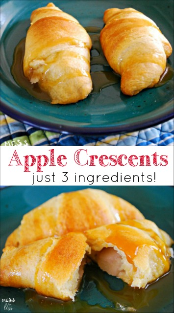FOOD FUN WITH KIDS - APPLE CRESCENTS