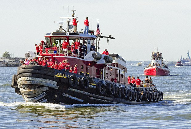 Watch tugboats race and more at the Great North River Tugboat Race & Competition