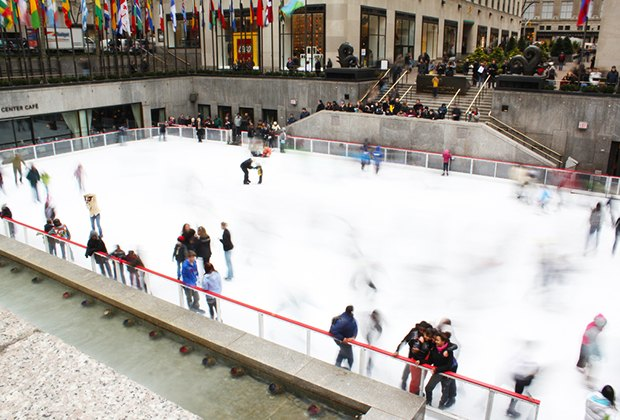 The skating season begins at Rock Center