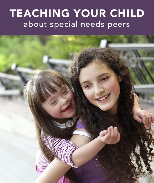 Teaching Your Child About Peers With Special Needs