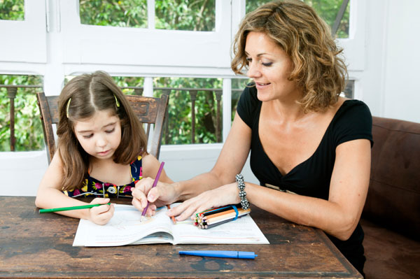 How can help your child find success with his homework