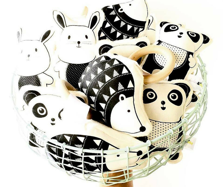 There are also some toys designed for the youngest kids: Handmade Toys and Textiles
