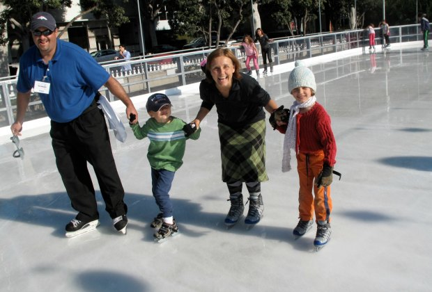 ice skating outdoor rink